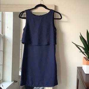H&M navy blue dress. (2) ✨